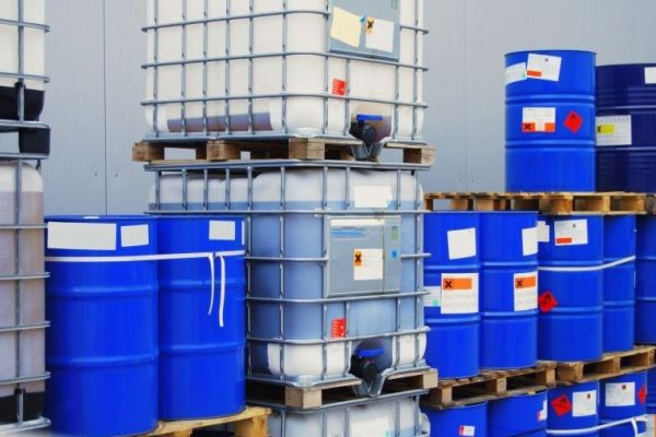 Kimyasal Bidon Etiketi